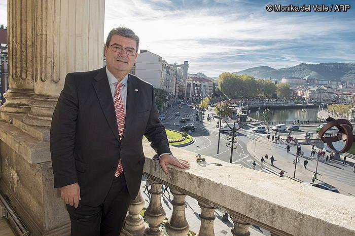 """Juan Mari Aburto: """"Unibertsitate hiri bihurtu nahi dugu Bilbo"""""""