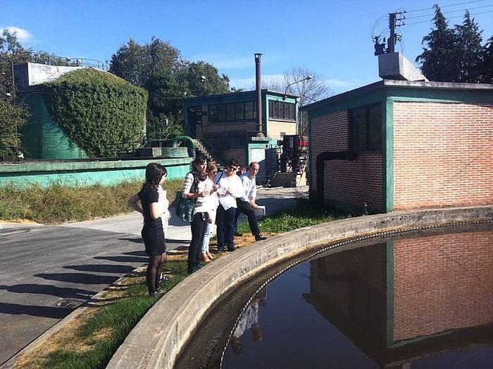 Urdaibaiko saneamendu sarerako lanek 8 milioi euroko murrizketa dute