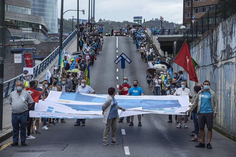 Bizkaiko herrietara ere hedatuko da urtarrileko presoen manifestazioa