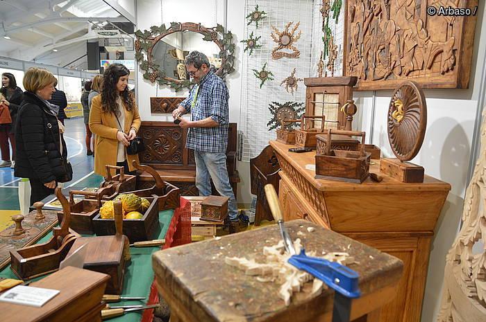 Artisautza tradizionala eta garaikidea erakusgai Durangon