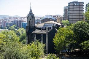 Portugaleteko Sastraka gaztetxean sutea