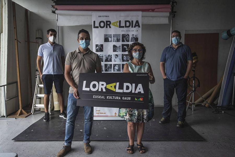 Bihar hasiko da Loraldia festibala, pandemiagatik eten eta sei hilabetetara