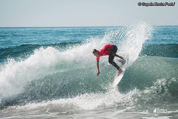Surfetik sortuta, haziz doa