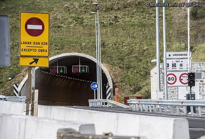 Tunelak zabaltzeko prest daude