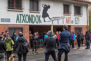 AHTren aurkako ekimena Atxondon